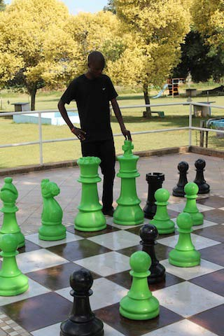 Chess at Camp Zenith