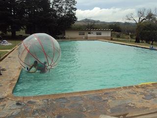 Waterball on Pool
